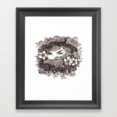 Eyes Without a Face Framed Art Print