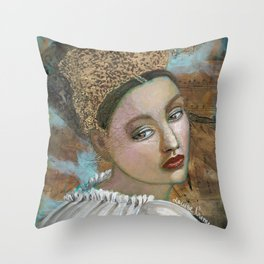 The last strains of music Throw Pillow