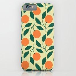 California Orange Grove iPhone Case