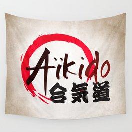 Aïkido v2 Wall Tapestry