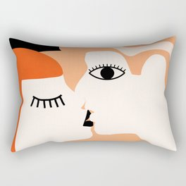 Kiss2 Rectangular Pillow