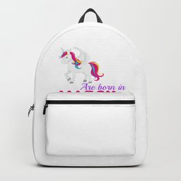 uNicorn cats are born in march Backpack