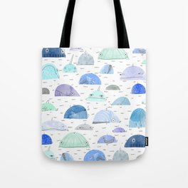 Whale party Tote Bag
