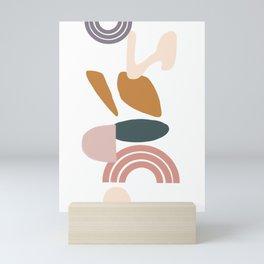 Rainbows and Mountains Mini Art Print