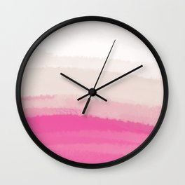 Sea - Line Clolor Pattern V10 Wall Clock