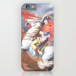 Crossing the St. Bernard II iPhone Case