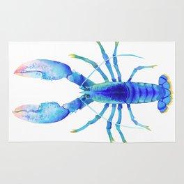 Blue Lobster № 2 Rug