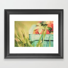 strawberry fields forever ...  Framed Art Print