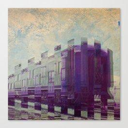Traincar Canvas Print