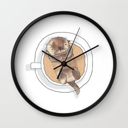 The Tea Otter Wall Clock