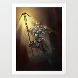 The Valkyrie Art Print