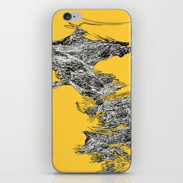 Waterfall in Yellow iPhone Skin