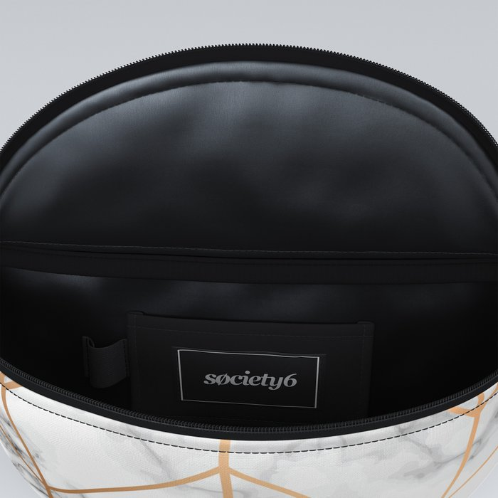 Marble Geometry 057 Fanny Pack
