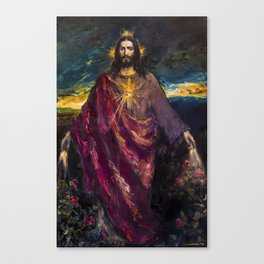 THE LIGHT OF THE WORLD Canvas Print