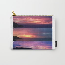 A Seacliff Sunset Carry-All Pouch
