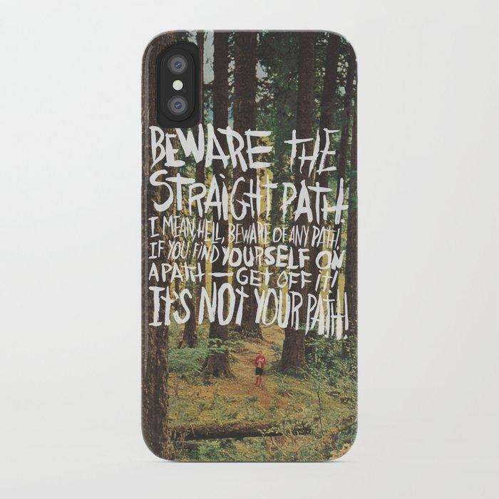 JAMES VICTORE iPhone Case