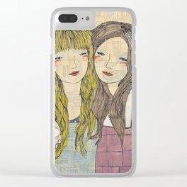 I'll Be There With Bells On Clear iPhone Case