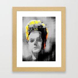 Erase my Head Framed Art Print