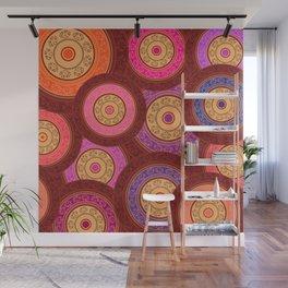 Ethnic Mandala Pattern Wall Mural