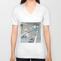 fargo V-neck T-shirts featuring F a r g o by Axstone