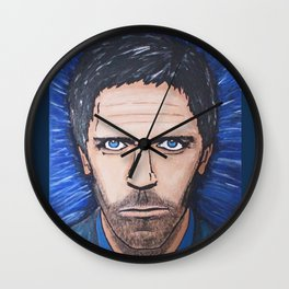 Fueled by Vicodin Wall Clock