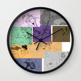 couples love Wall Clock