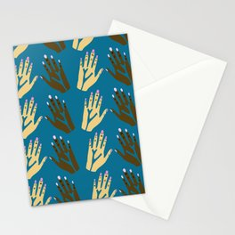 All blood is the same - blue Stationery Cards