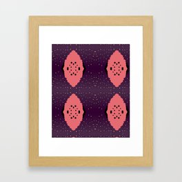 Dalmation Spots & Dots Framed Art Print