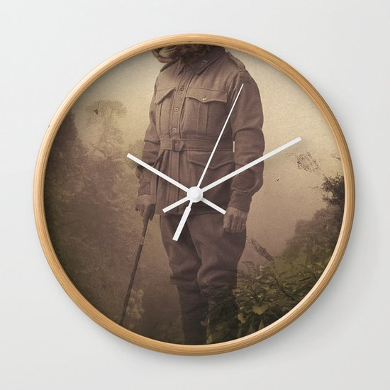 Jungle Jaguar Wall Clock