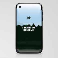 i want to believe. iPhone & iPod Skin
