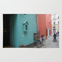 street Area & Throw Rugs featuring Street by Infra_milk