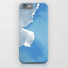 Sun rays behind Clouds iPhone 6 Slim Case