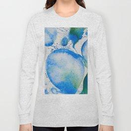 Blue Study Long Sleeve T-shirt