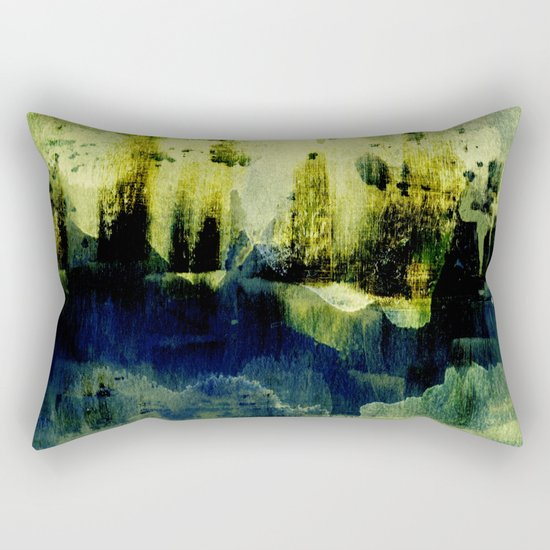 abstract landscape with light Rectangular Pillow