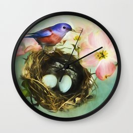 Built With Love2 Wall Clock