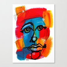 You Have to FaceYourself First Canvas Print