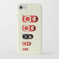 sheep iPhone & iPod Cases featuring The Black Sheep by Fabian Gonzalez