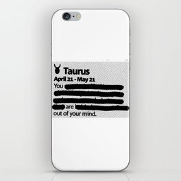 Taurus 1 iPhone Skin
