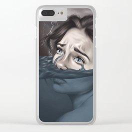 Raining in Atlantis Clear iPhone Case