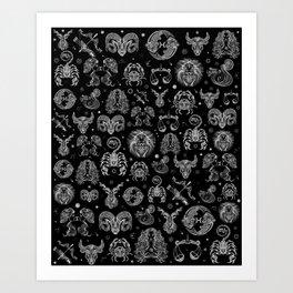 Astrological Art Print