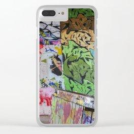 Graffiti Art Clear iPhone Case