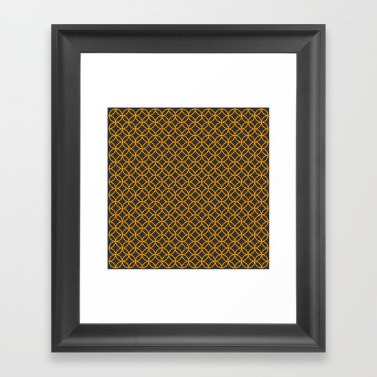 Pattern E Framed Art Print
