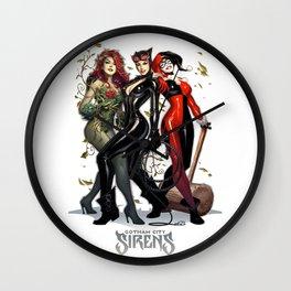 Sirens Gotham city Wall Clock