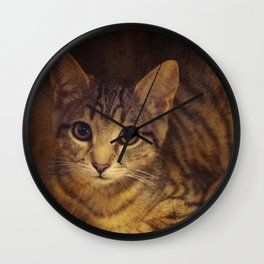 Tybalt the Prince of Cats Wall Clock