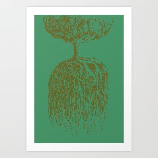 One Tree Planet *remastered* Art Print
