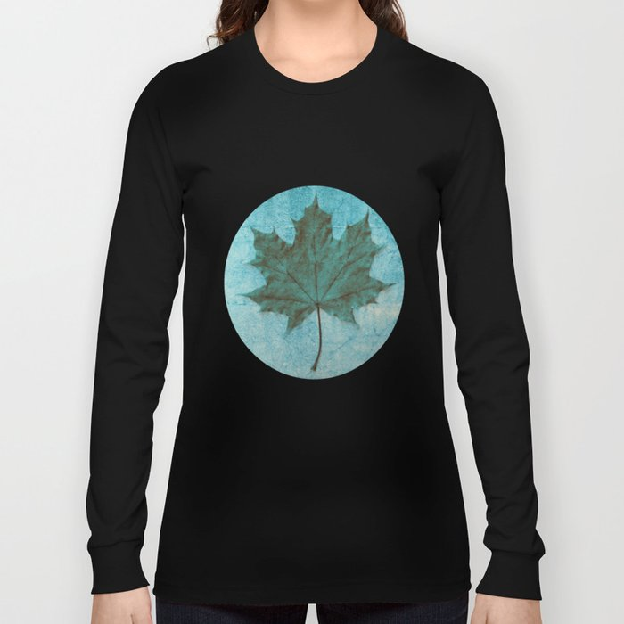 Autumn in blue Long Sleeve T-shirt