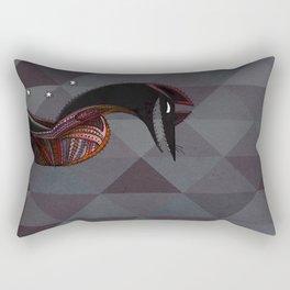 Mexican folk art coyote, Oaxacan style Rectangular Pillow