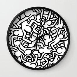 Keith H. #5 Wall Clock