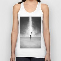 feet Tank Tops featuring Weightless by Samuel Gray