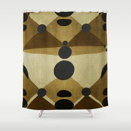 """African retro pattern (Ethnic)II"" Shower Curtain"